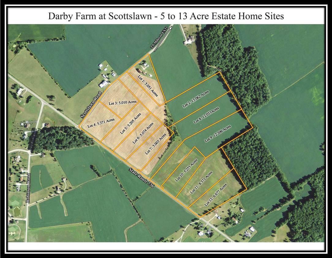 Darby Farm at Scottslawn Aerial for MLS