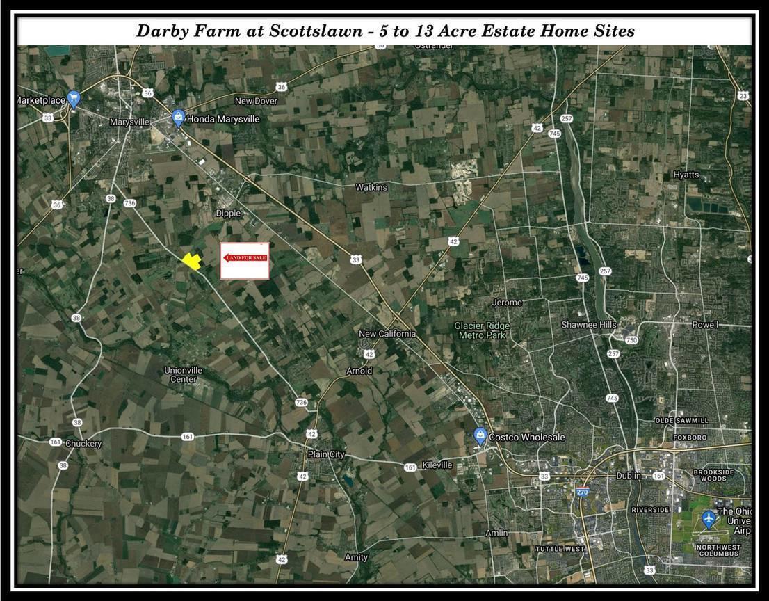 Darby Farm at Scottslawn Location Map fo