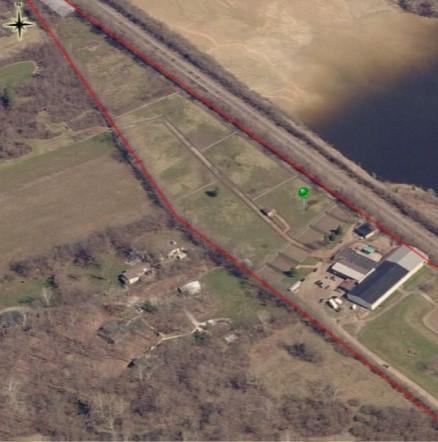 Aerial Horse Farm