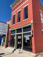 Wonderful commercial space in the heart of Downtown Delaware.  This charming first floor commercial space has tons of potential with a open floor plan, large bathroom, extra storage in lower level, and private office. Great location with public parking nearby. Hurry!!