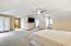 • Light sand carpet • Tan painted walls • Angled ceiling • Ceiling fan • TV is negotiable • Control4 intercom and control panel