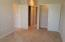 2 clothes closets and 1 linen closet in Master Bdrm suite