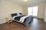 1st floor master with brand new laminate wood flooring
