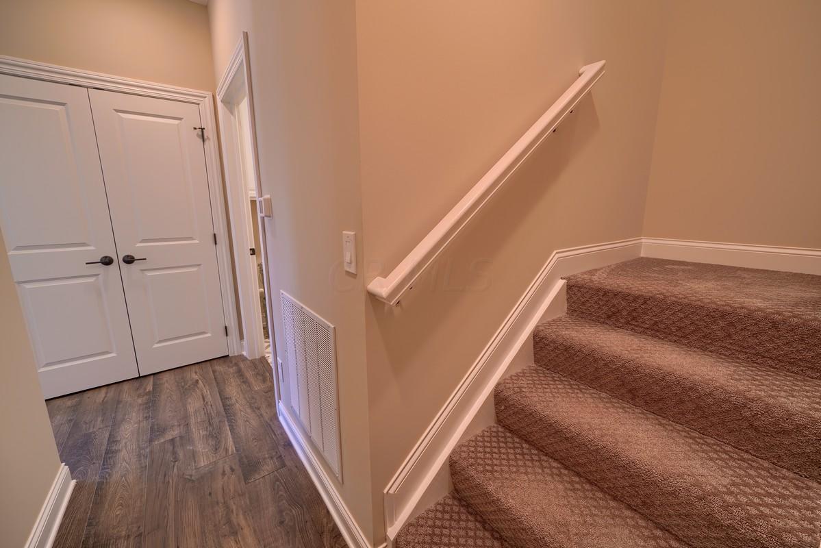 Stairs to bonus suite