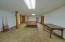 Spacious lower level has many possibilities