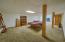 Lower level for home schooling, office, rec room, media room . . .