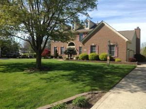 This amazing Jefferson Farms brick home is stunning and situated on a huge lot.