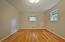 Pegged Hardwood Floors. Freshly Painted