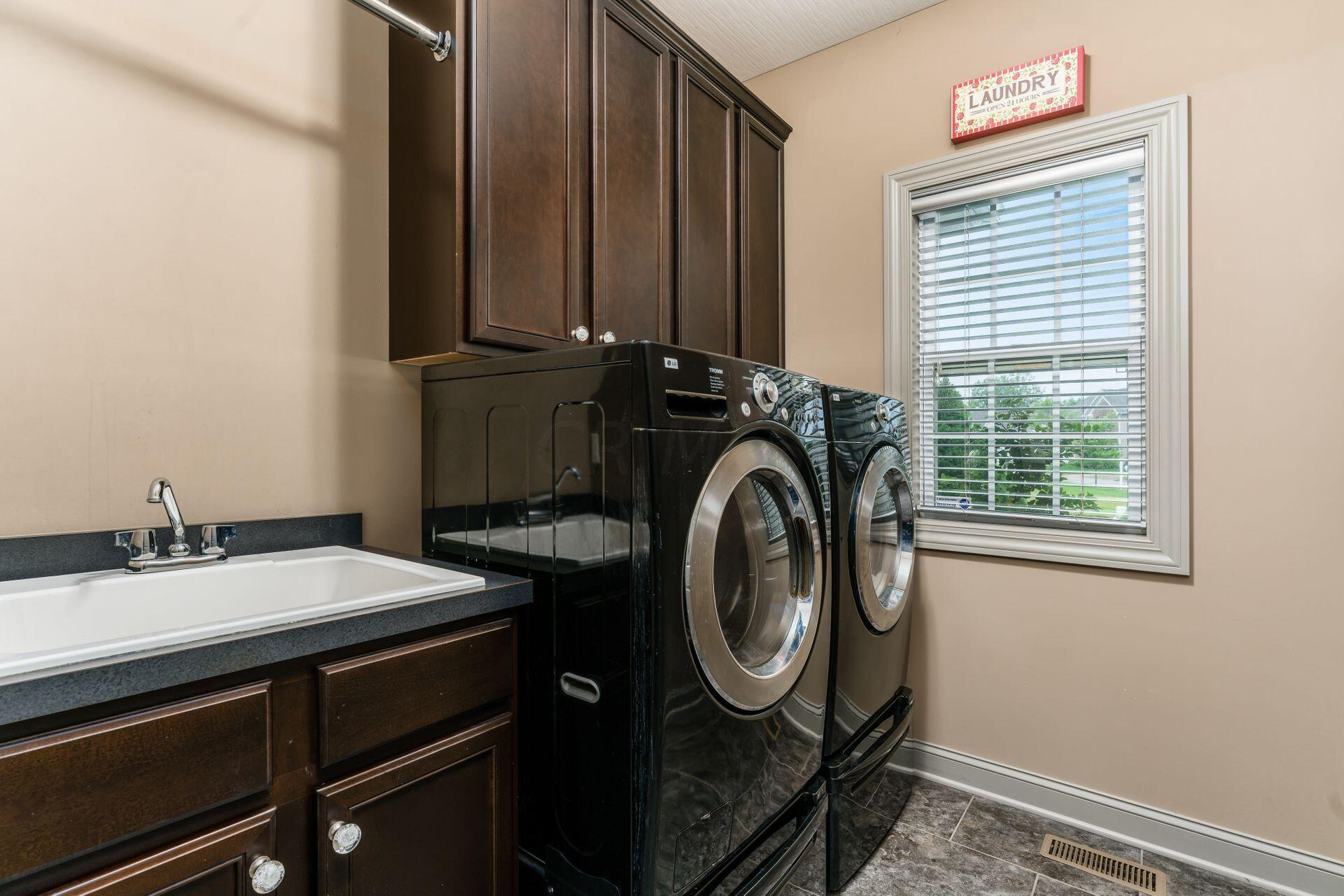 First Floor Laundry