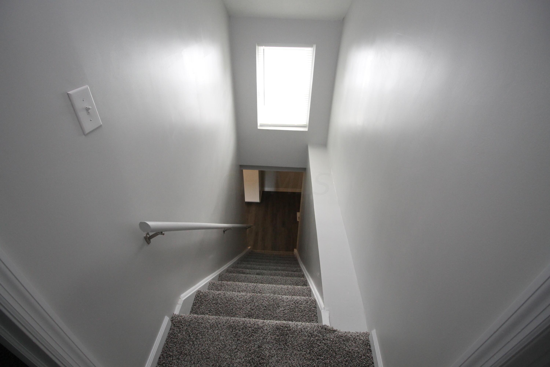 Stairs w/ window