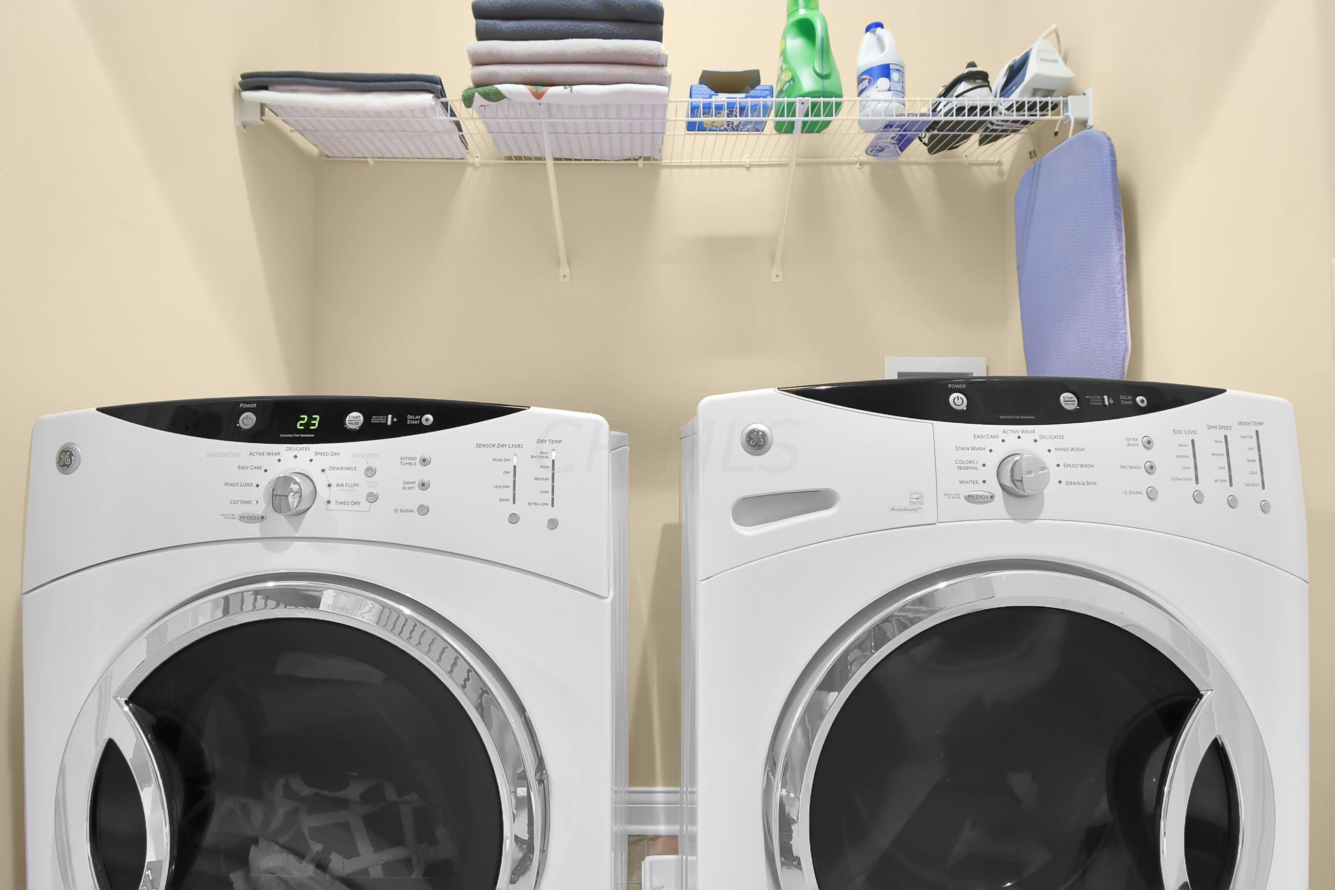 Upstairs Laundry Closet