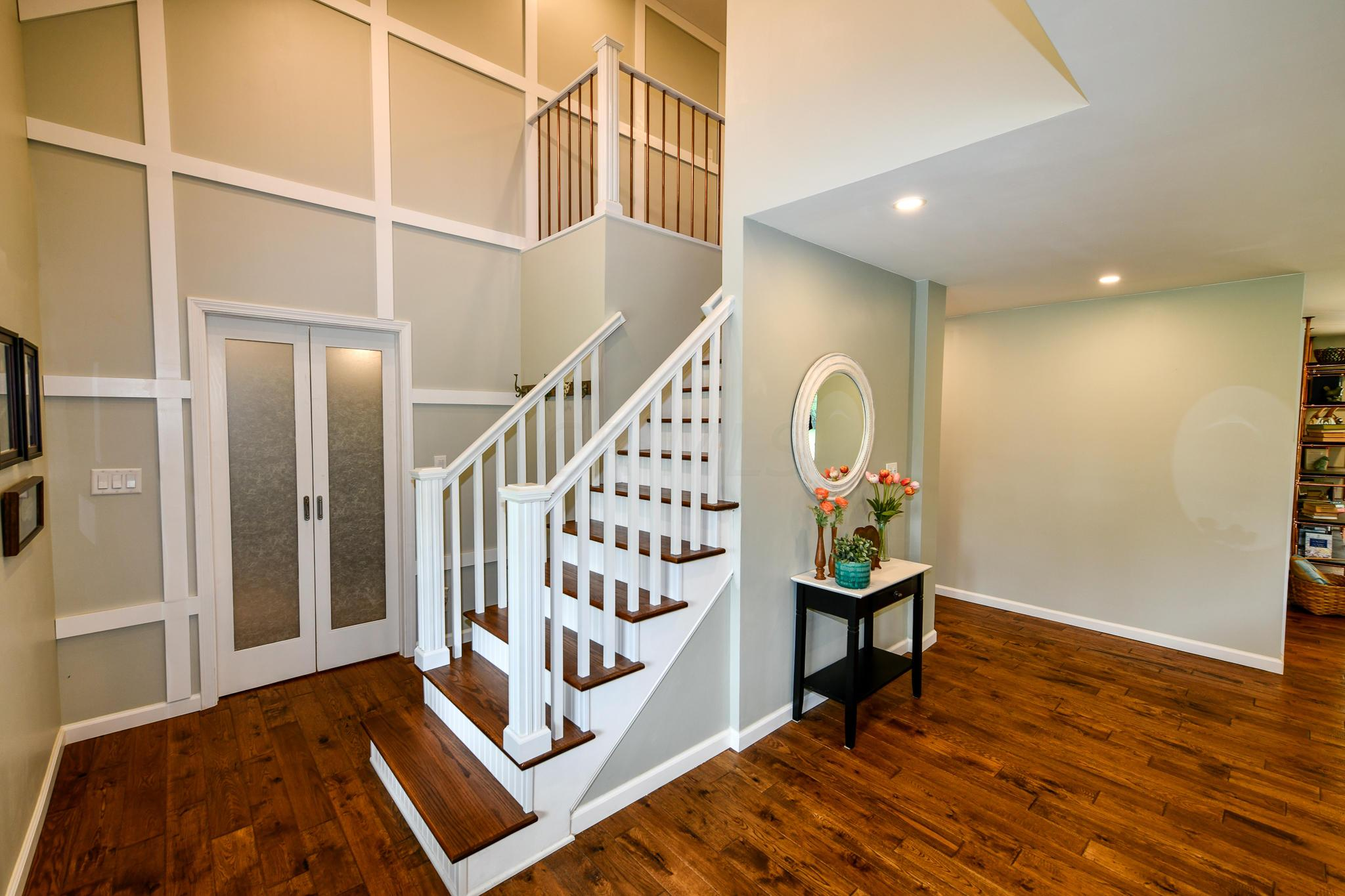Two Story Front Entry