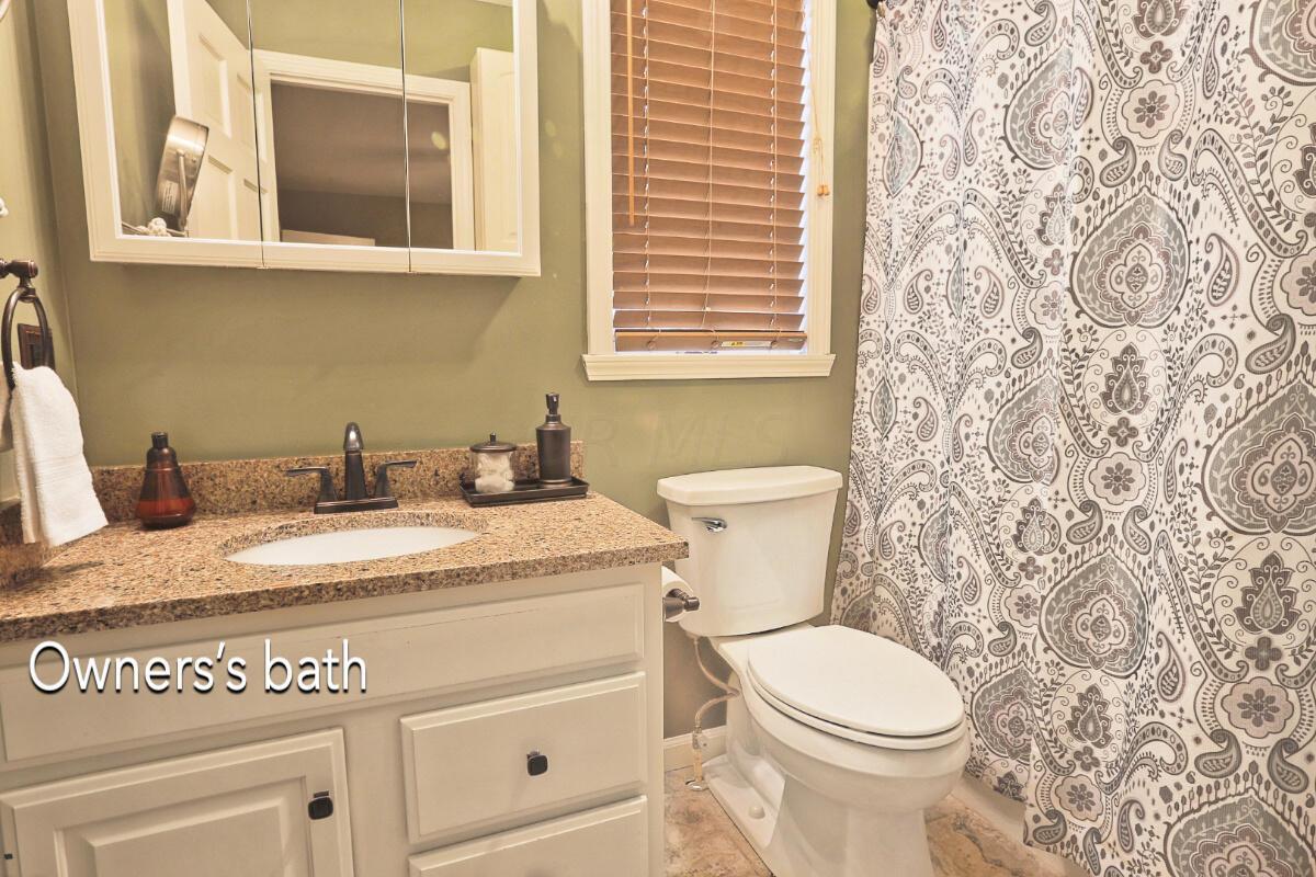 Owners bathroom 1