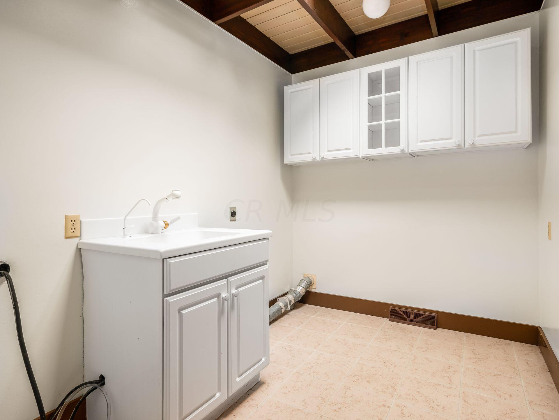 Main level Utility Room