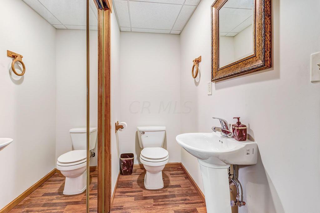 Finished Lower Level Bathroom