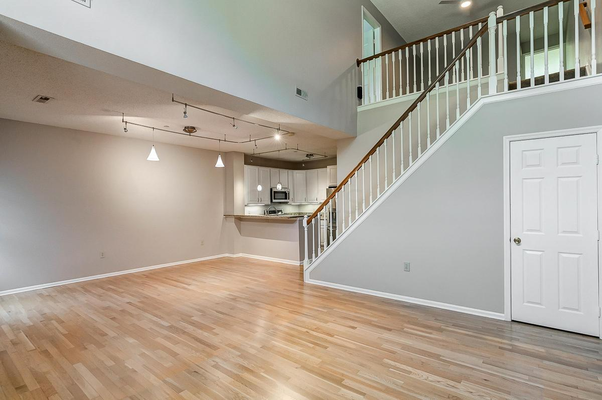 Living, Dining, Kitchen - Vacant