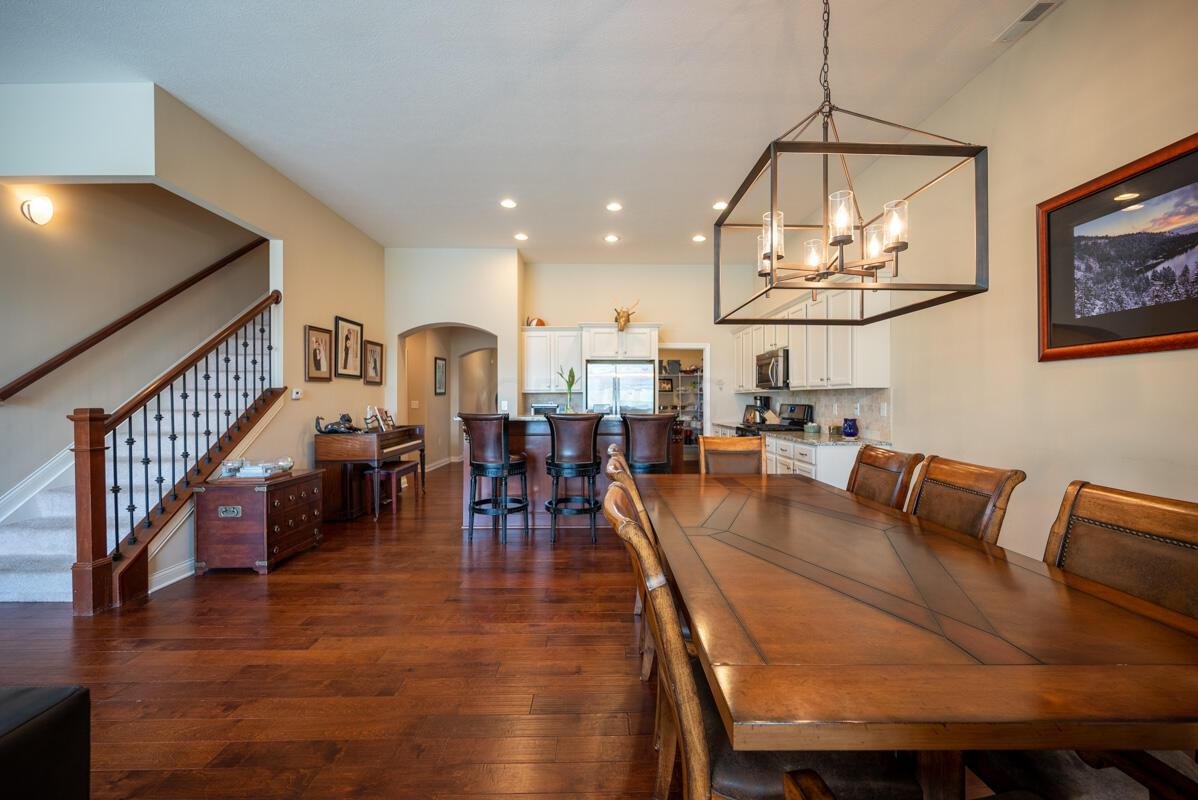View back to Kitchen/Dining Area