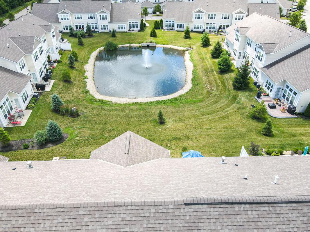 Drone View- Rear Fountain