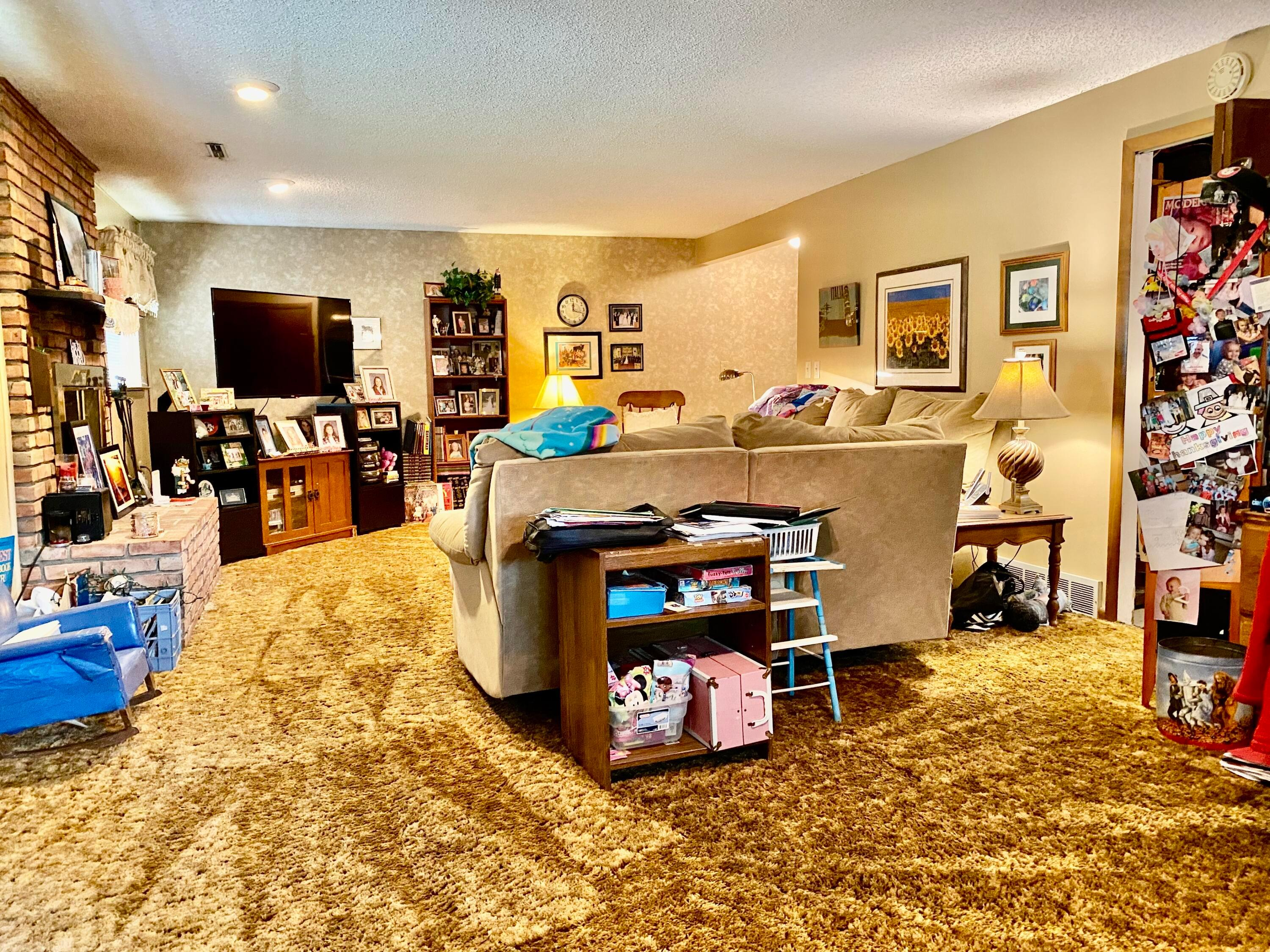Family room and office