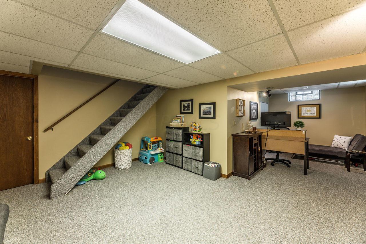 L-shaped rec room