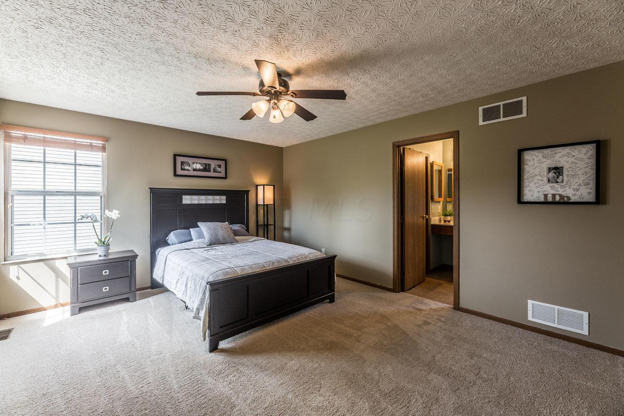 Spacious owners suite