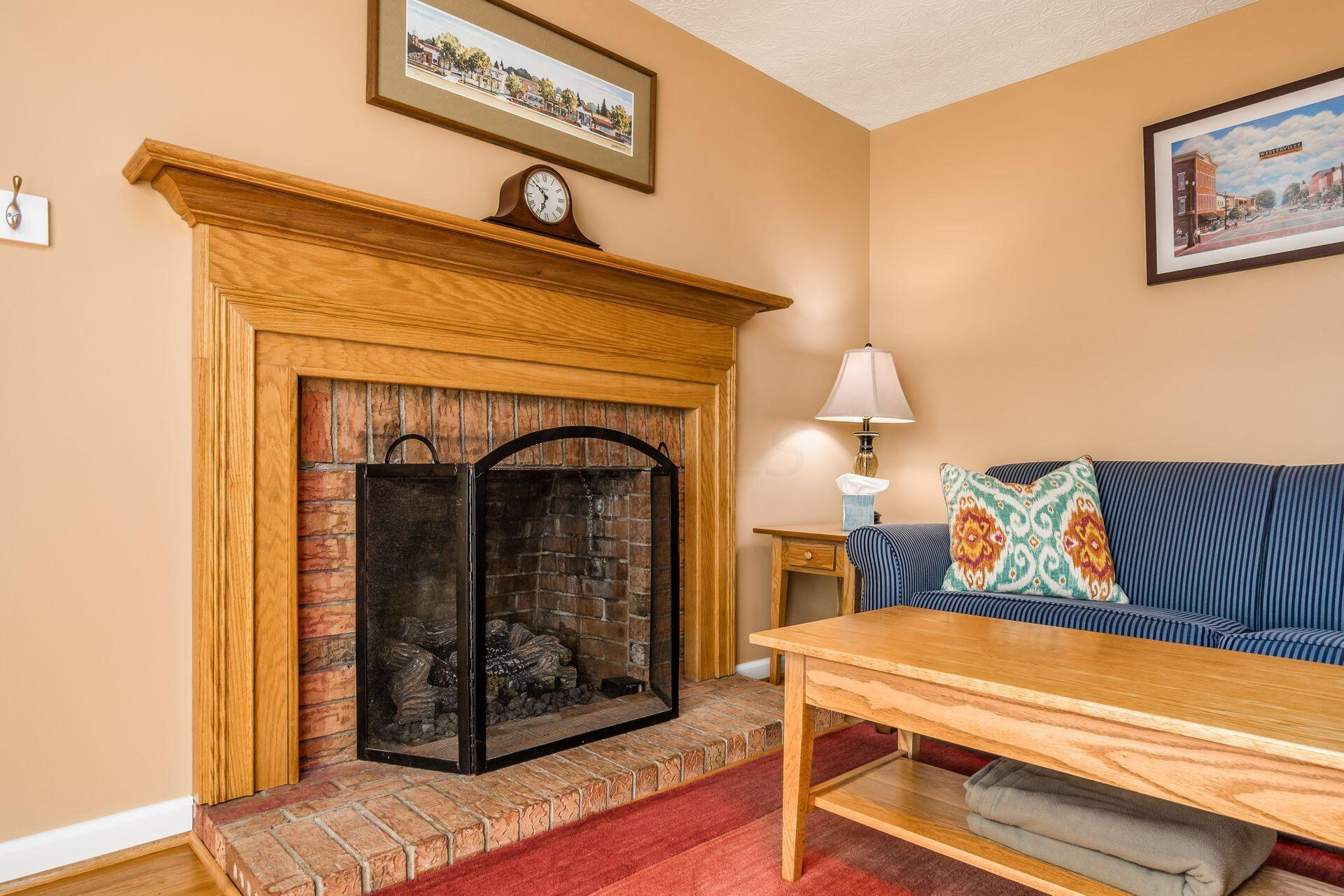 Gas Fireplace w/Remote