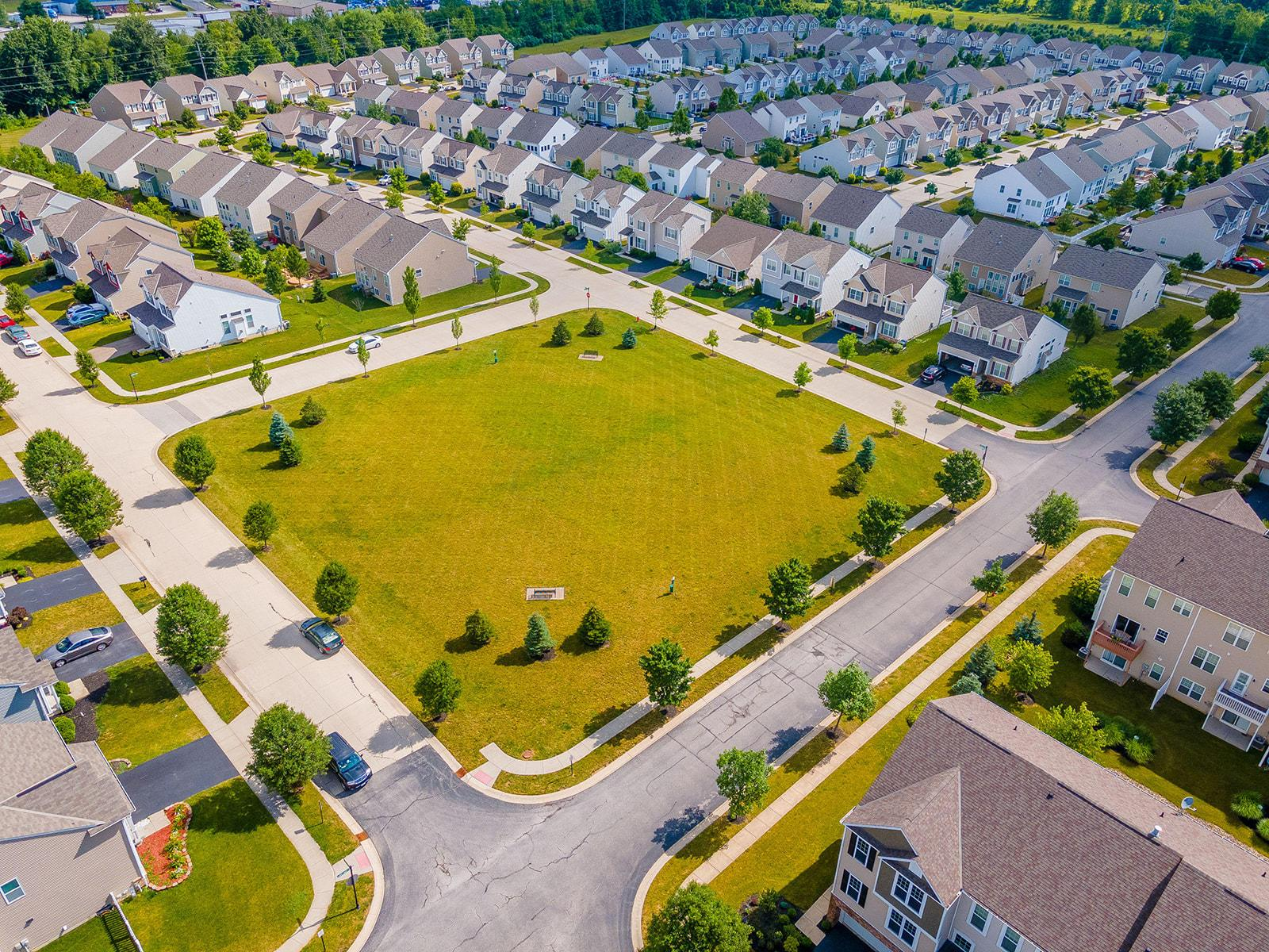 Green Space Aerial
