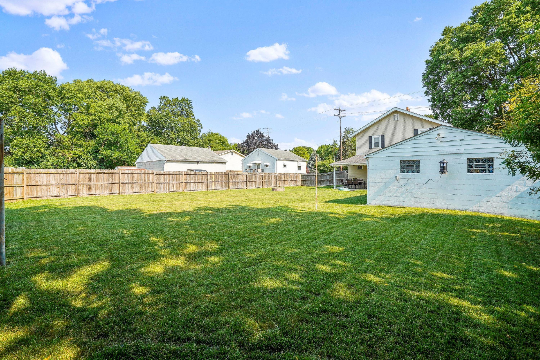 921 Chambers - fenced backyard