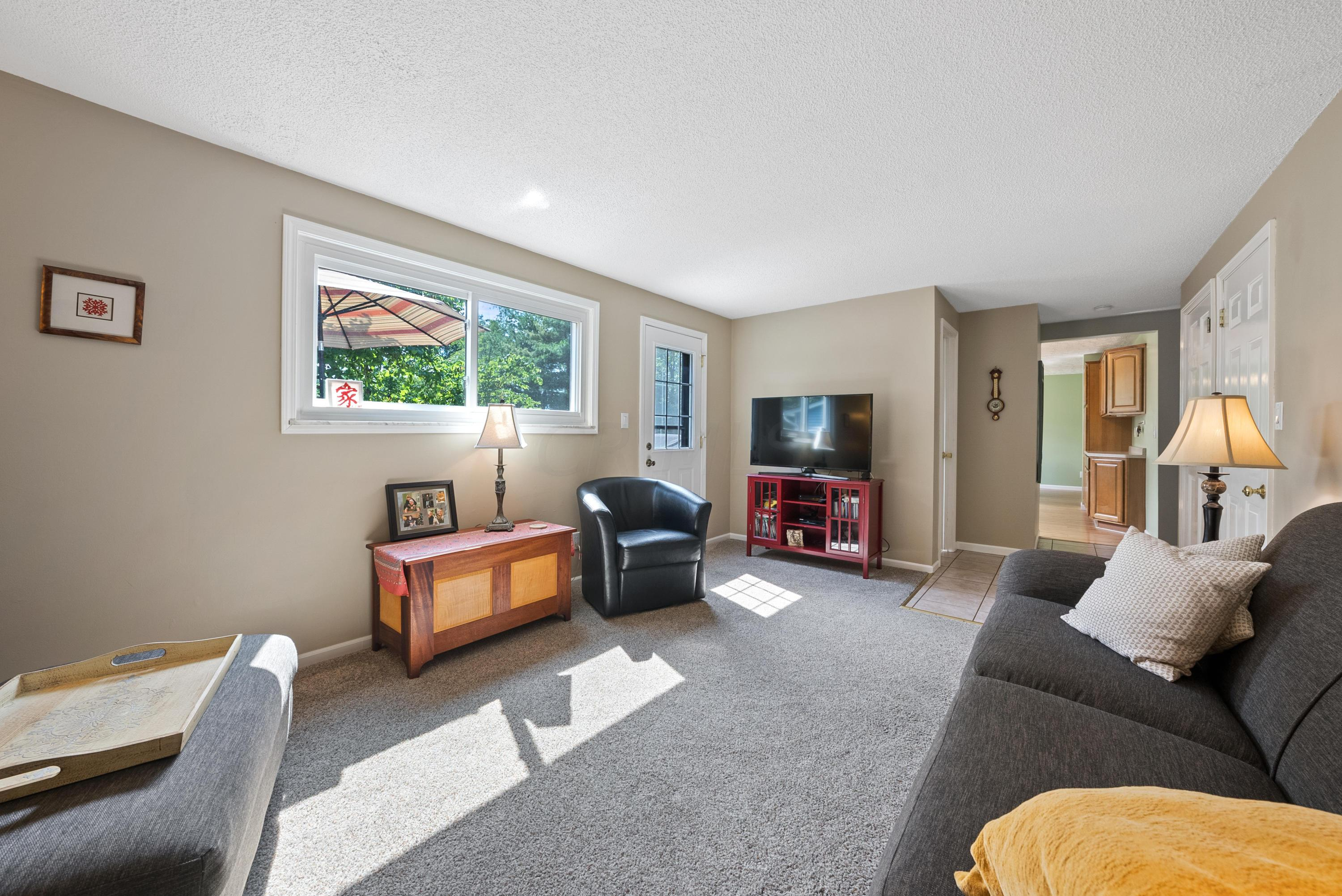 Family Room with Rear Access