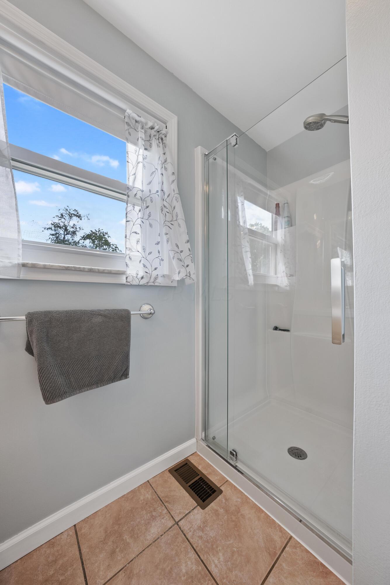 Owner Suite Upgraded Shower