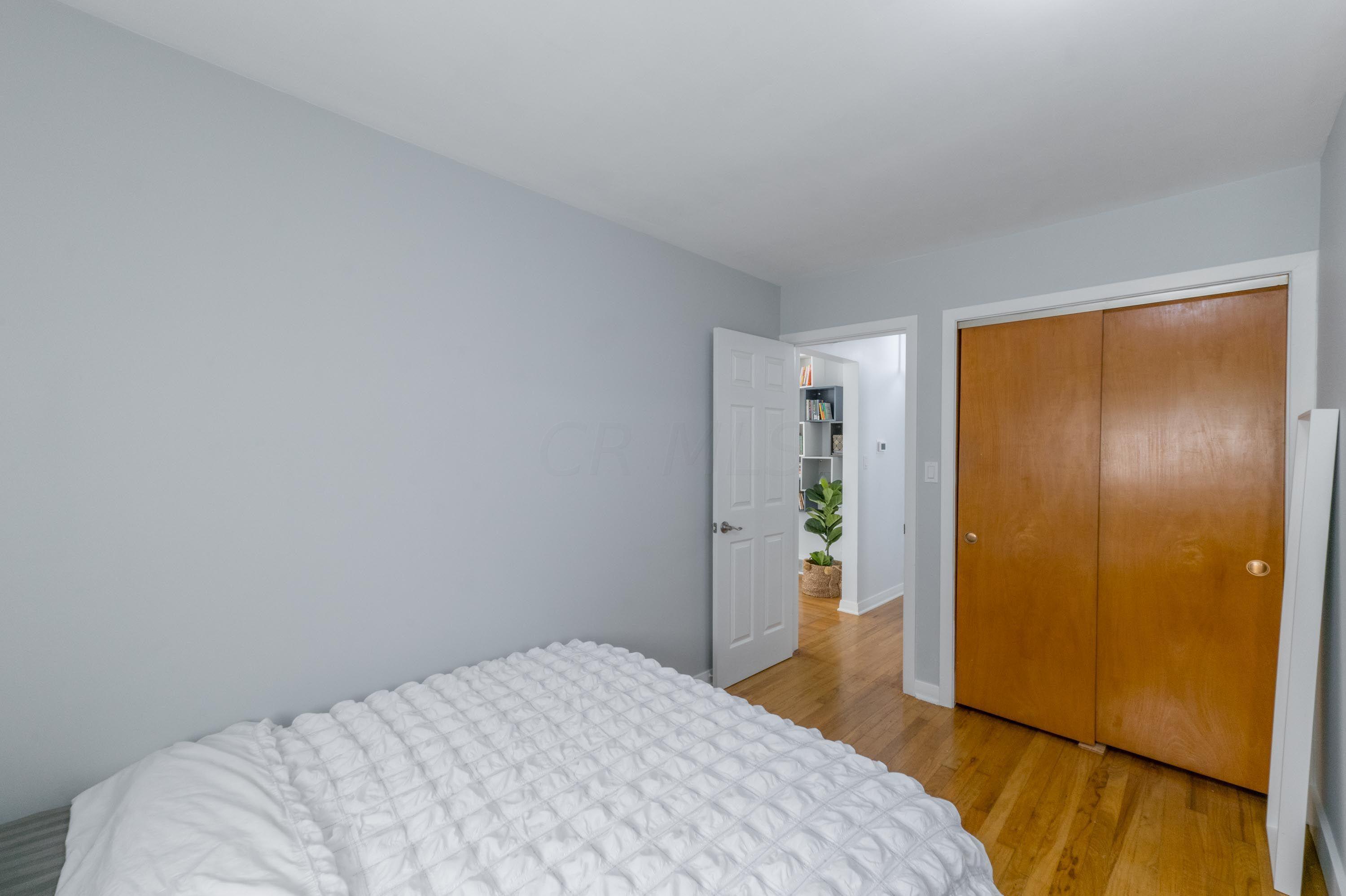 Bedroom - 2 has hardwood floors