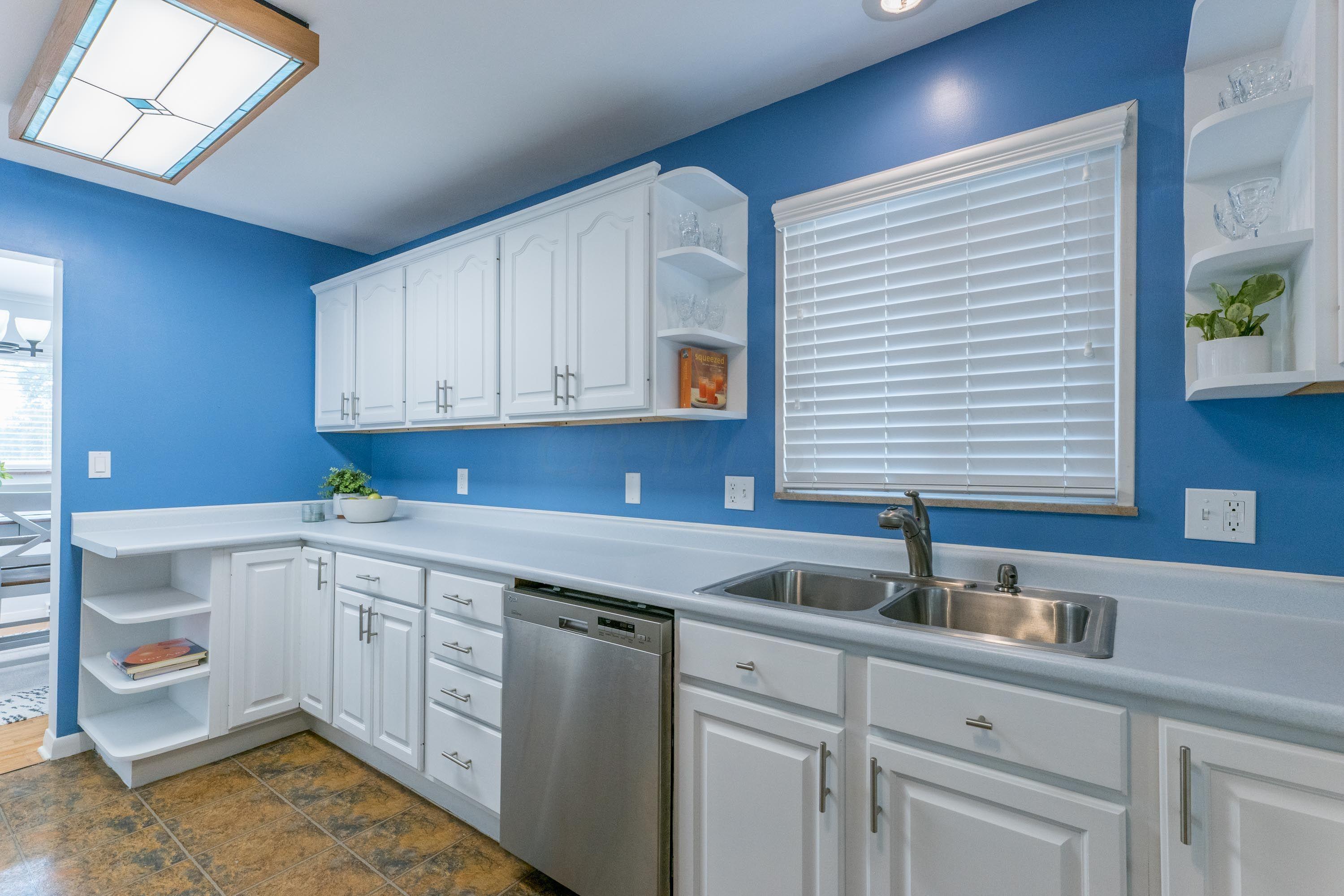 Kitchen has so much storage!