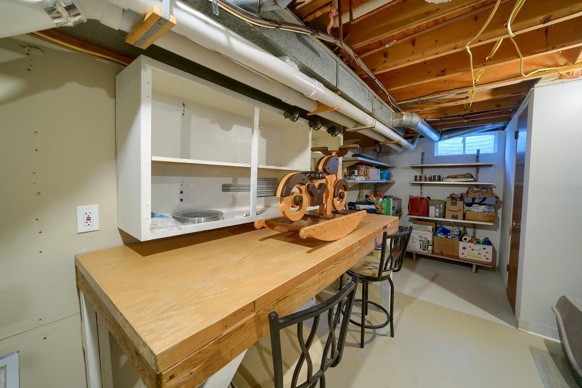 Workbench basement