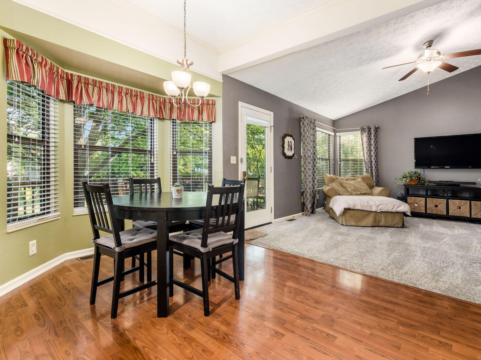 Eating Area open to Family Room