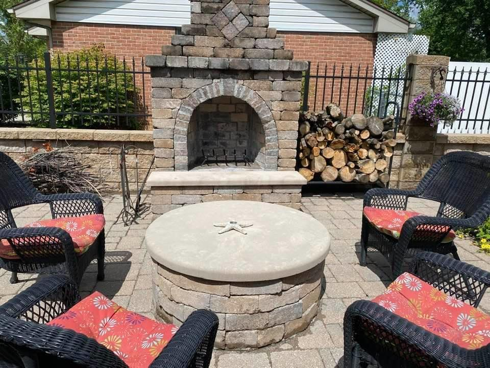 2374 White Rd Fireplace