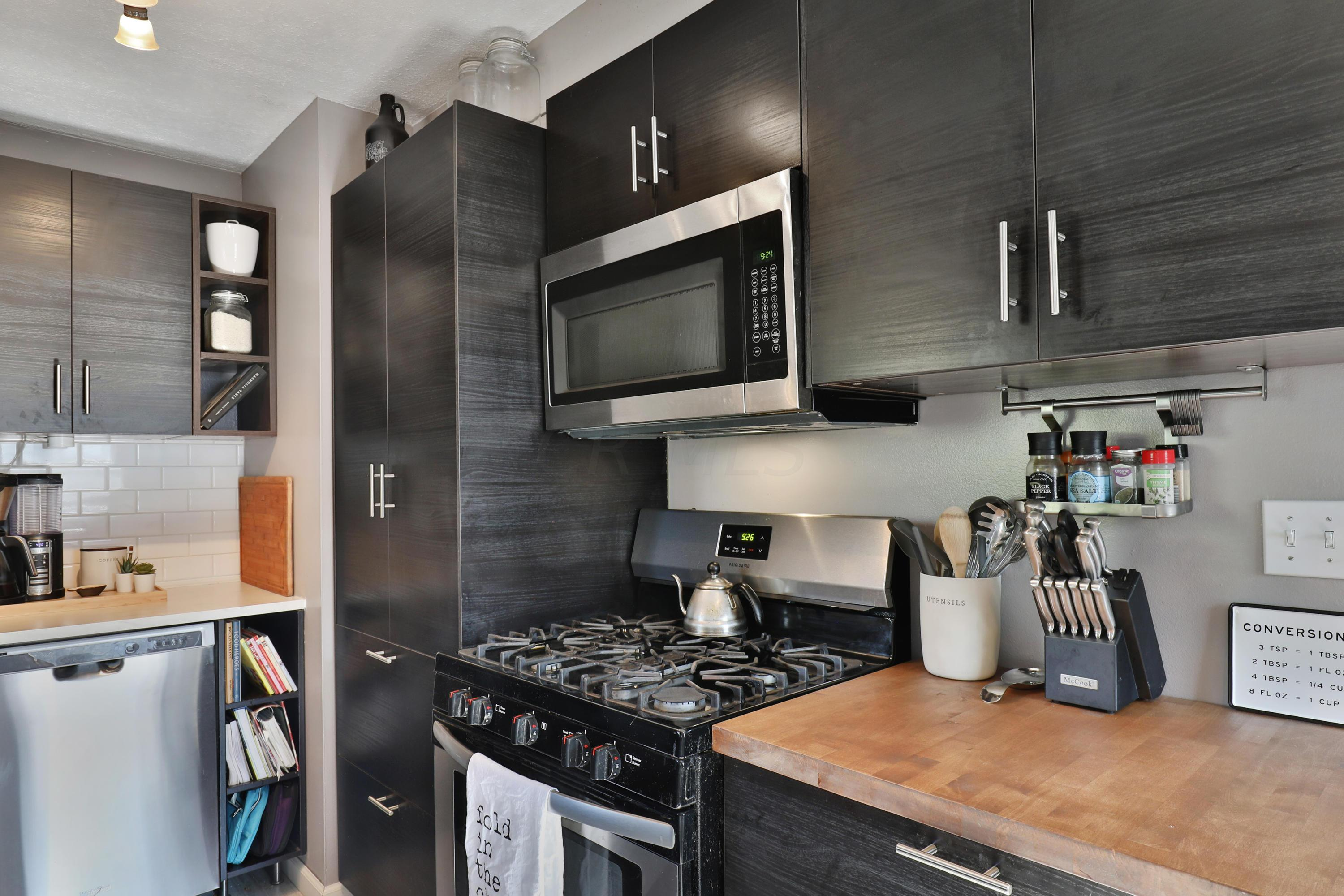 NEW kitchen with built in pantry, butche