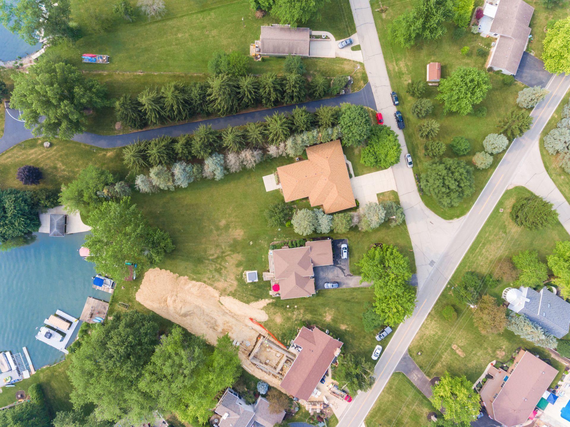 Drone - Property .44 acres
