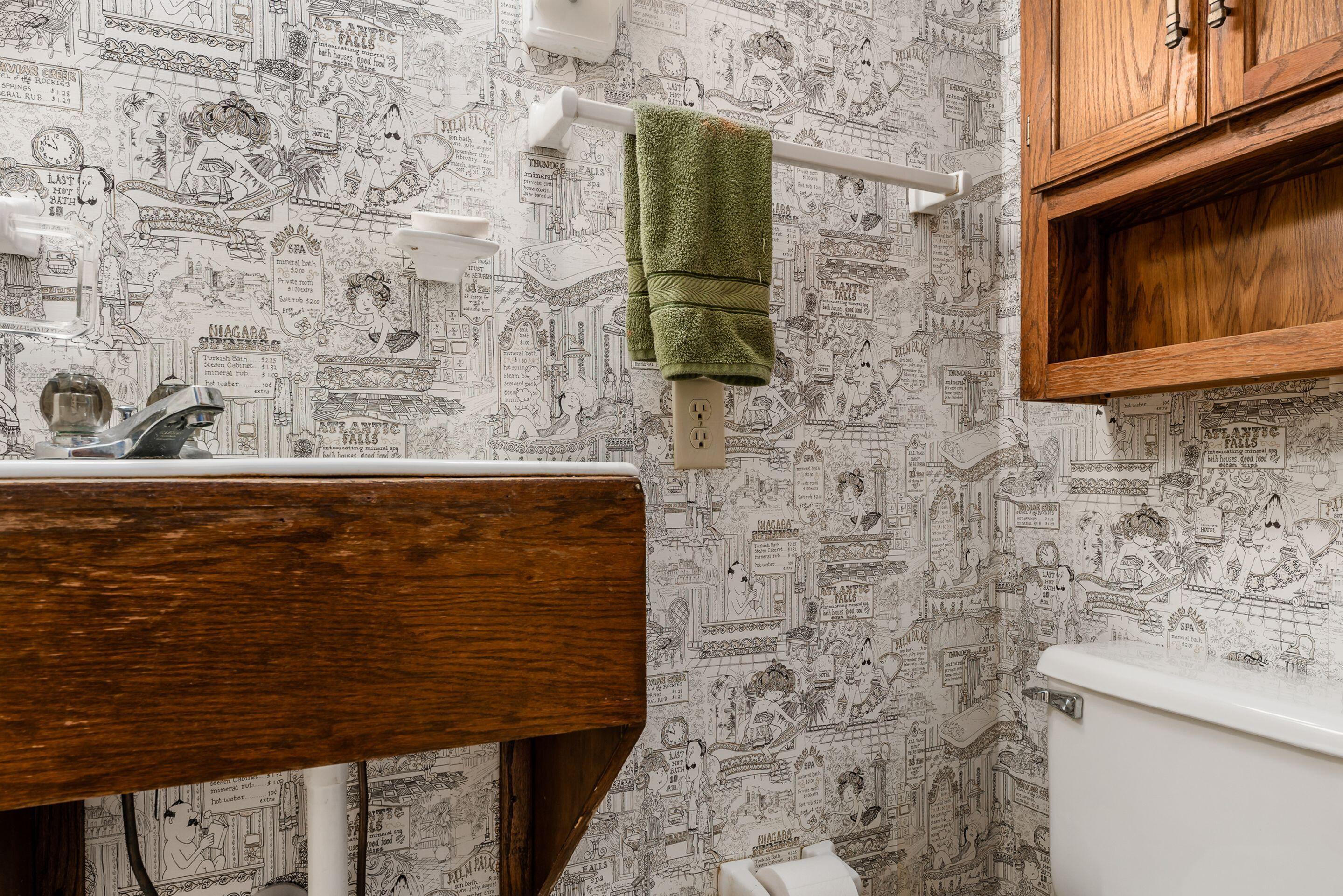 3/4 Bathroom off Hallway
