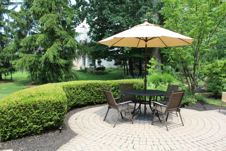 Custom paver patio