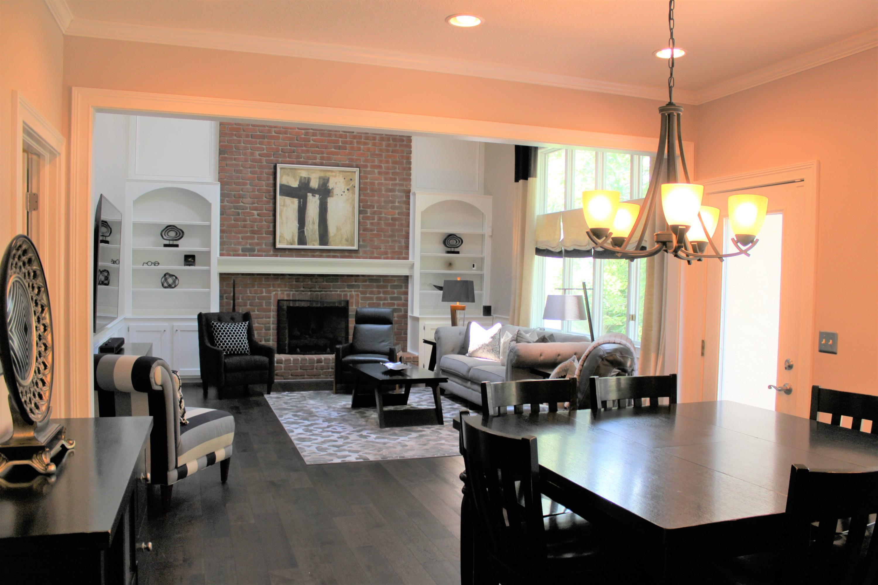 Dinette to family room