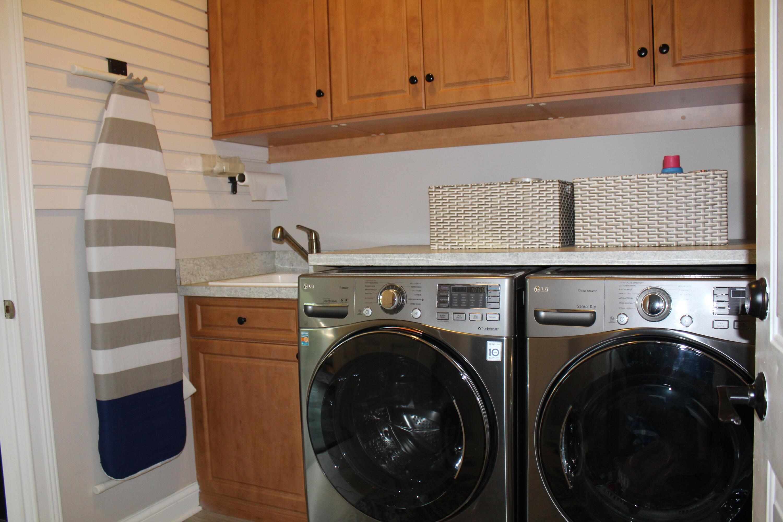 Main level laundry & deep sink