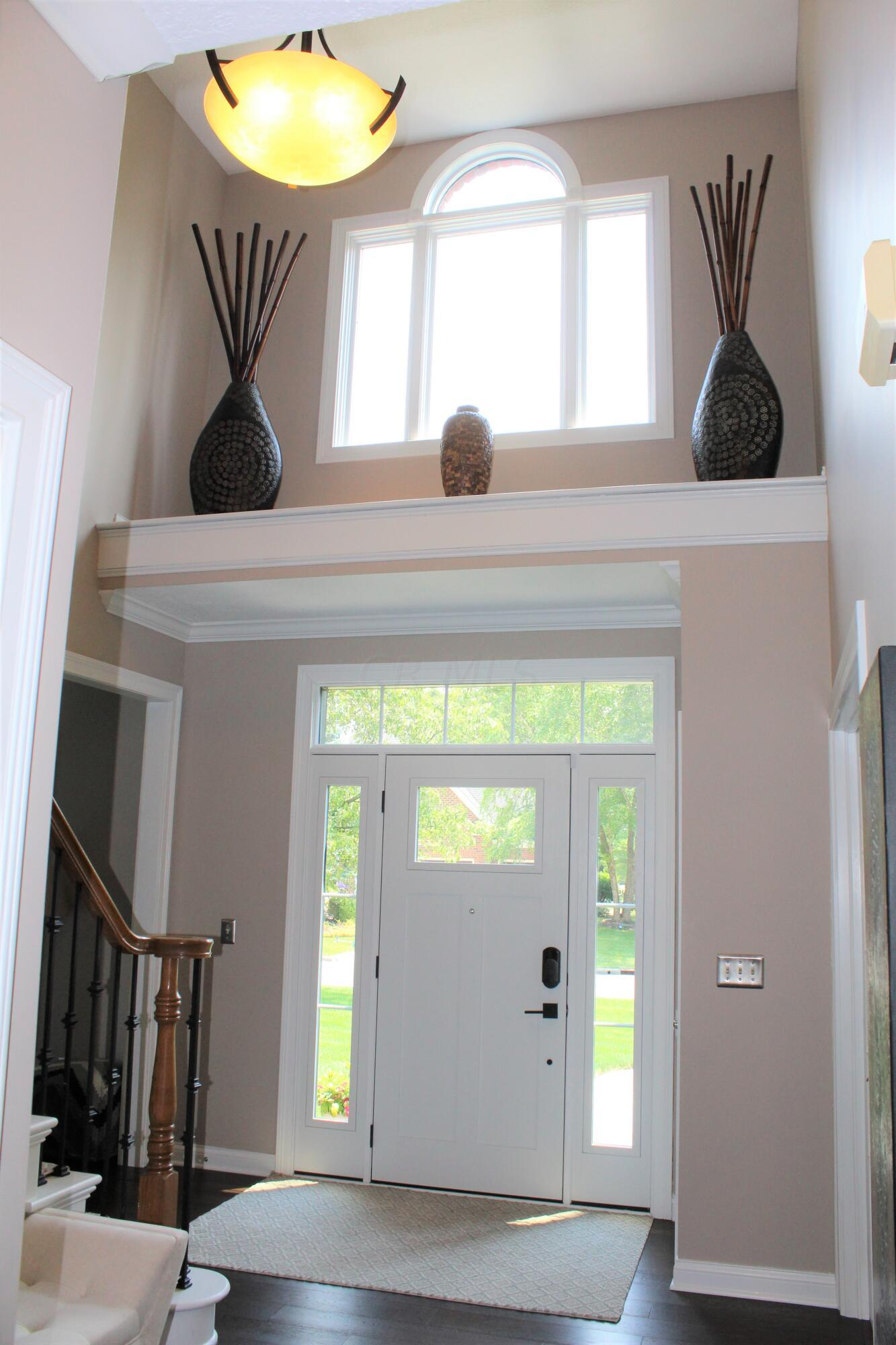 Foyer from kitchen view