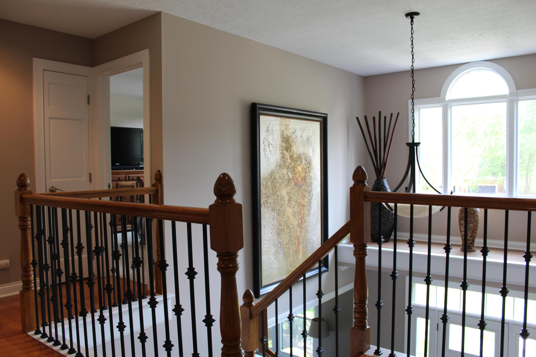 Upper level towards foyer view