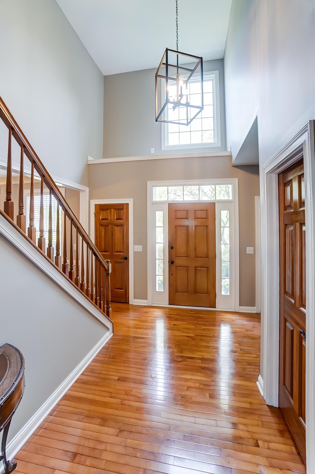 Foyer New Lighting