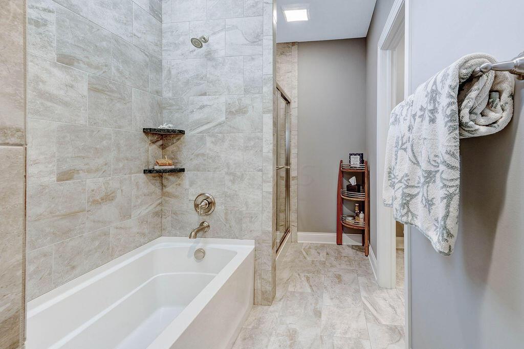 Finished Lower Level Three Bathroom