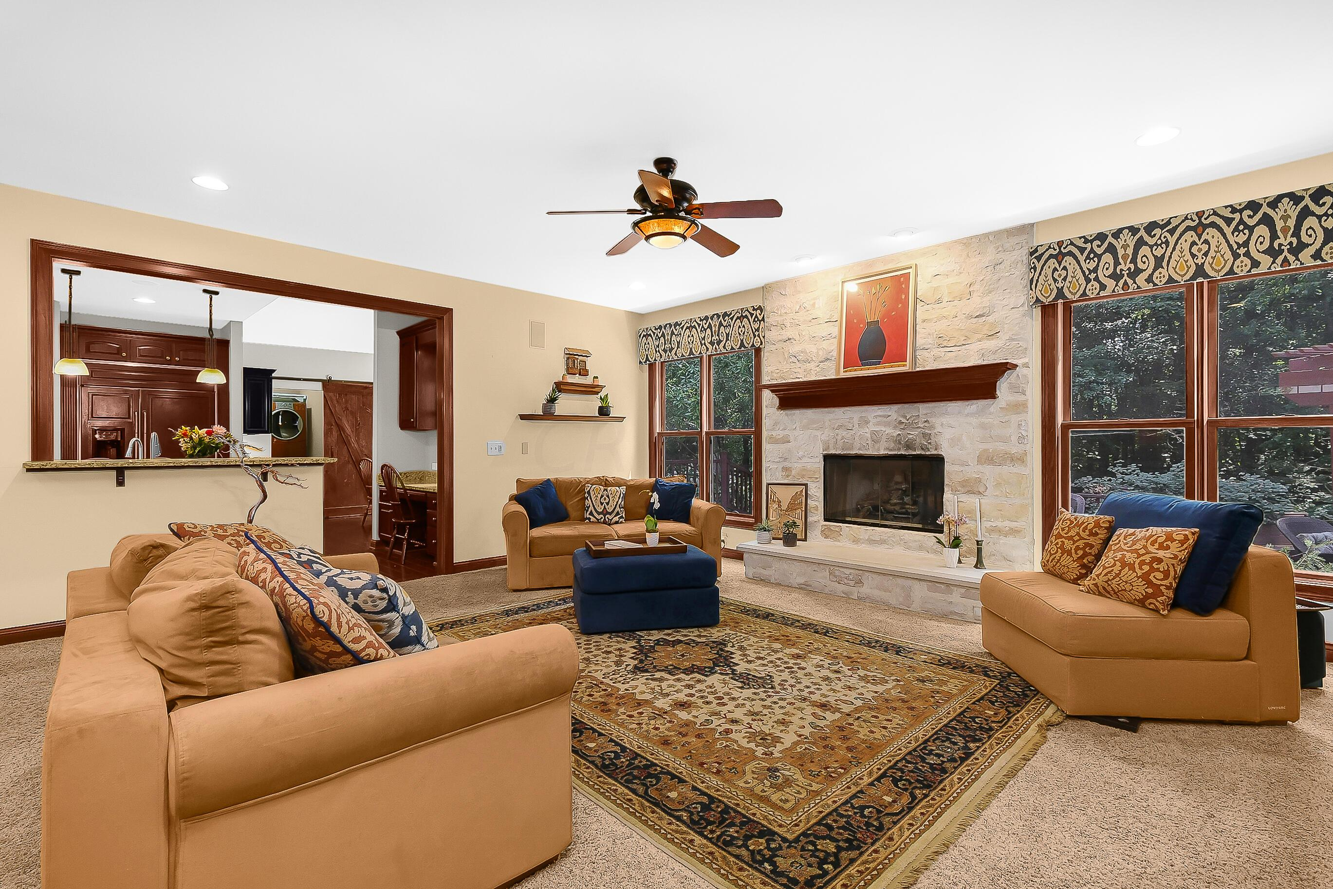 XL FAMILY Rm/GREAT RM ~ GASlog Fireplace