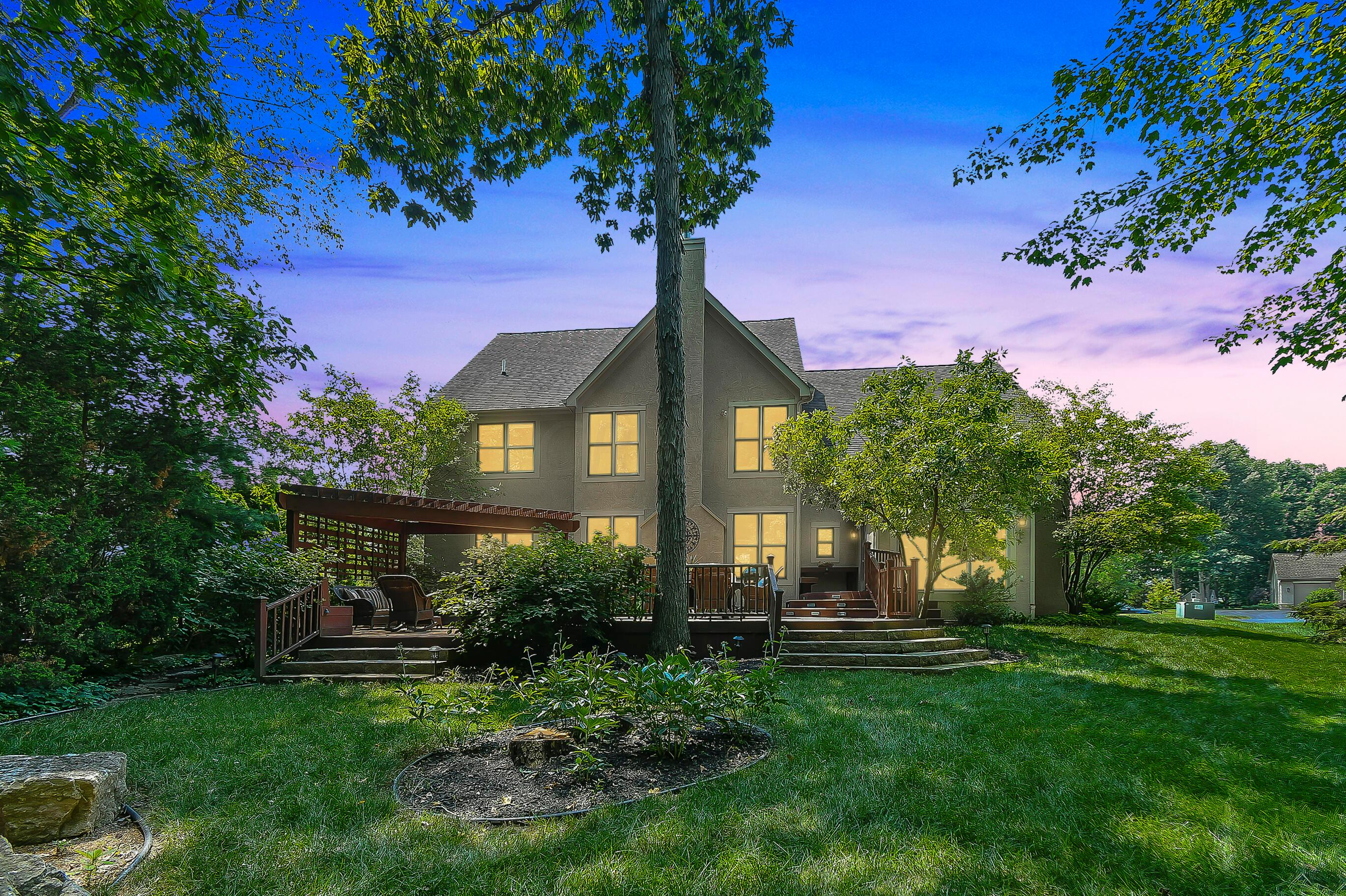 Private WOODED Lot backs to RESERVE
