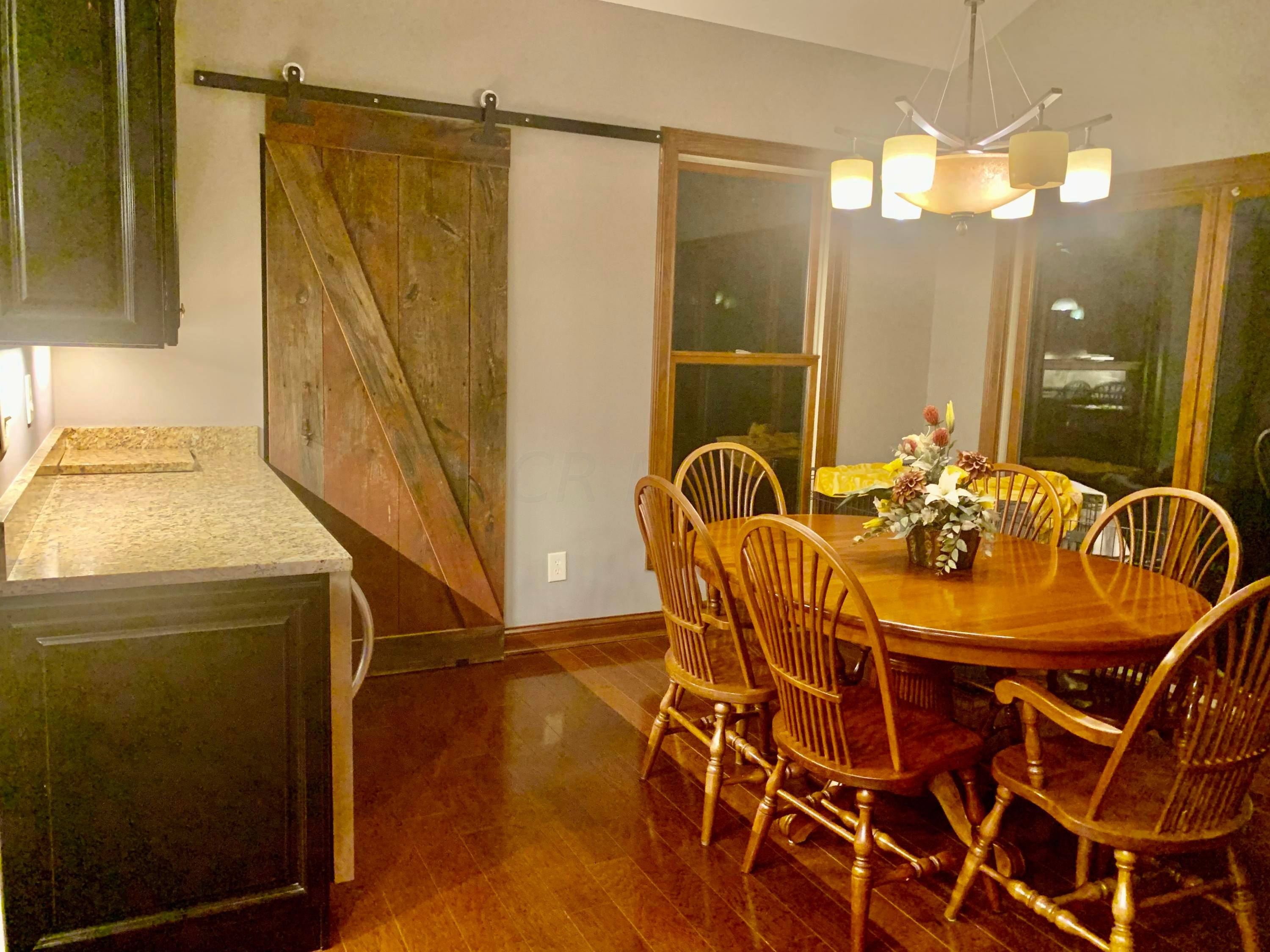 ACTUAL Barn Door is ENTRY to LAUNDRY Rm