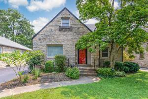 Lovely stone and stucco home on low traveled Bexley street