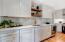 Kitchen with Quartz counter top
